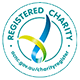 Registered charity tick of approval logo